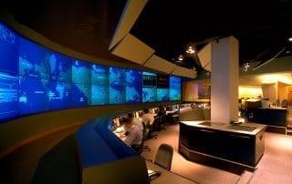 architecture reliance construction postes canada ottawa post control room chambre de controle high tech haute technologie