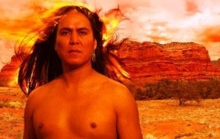 poesie poetry visual visuelle man navaho kel mockingbird portrait spiritual spirituel reveur dreamy fire arizona feu